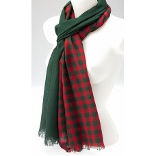 Unisex checked scarf
